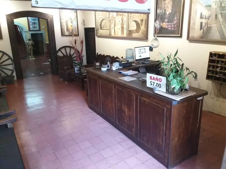 Centro historico Gto habitacion privada 2personas