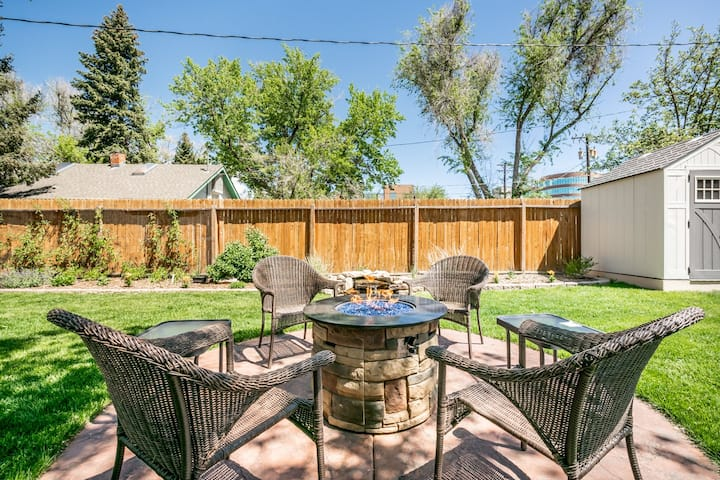 Firepit, Full Kitchen & Grill ★Close to Downtown!★