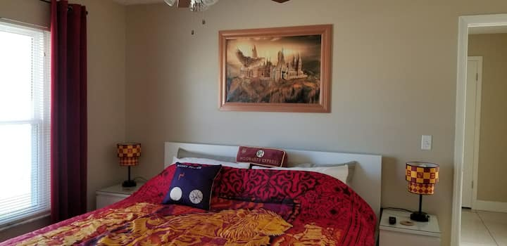 Harry Potter's Private room w/ King bed by Disney