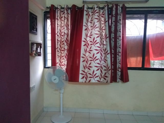 Comfortable homestay at apartment in decent socie - Mumbai - Apartment