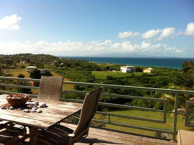 Beso del Caribe-Views, Walk to Beach- 2bed/1 bath