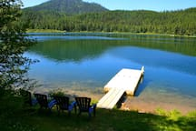 70 acres lake to play and fish in