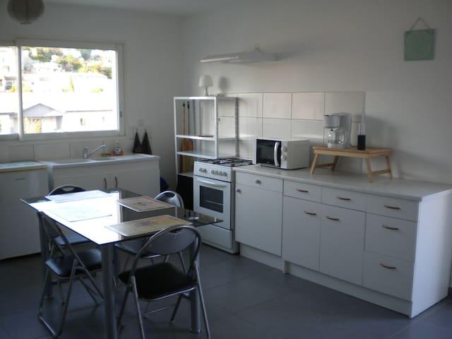 Studio meublé tout confort, proche Montélimar - La Bâtie-Rolland - Apartemen