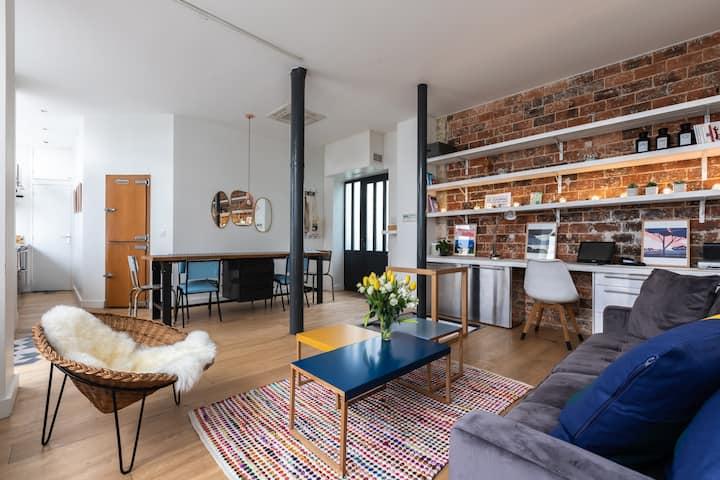 Fabulous Design LOFT 4P- High Marais / République