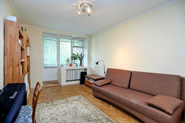 Comfortable flat in Moscow central district