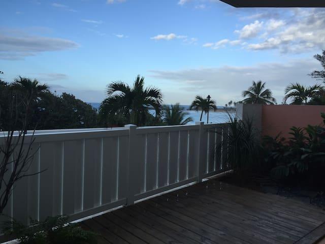 Beach front spacious apartment - Isabela - Flat
