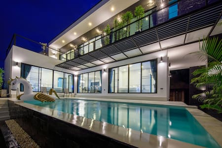4BR The Lux Modern Pool Villa - Free Breakfast