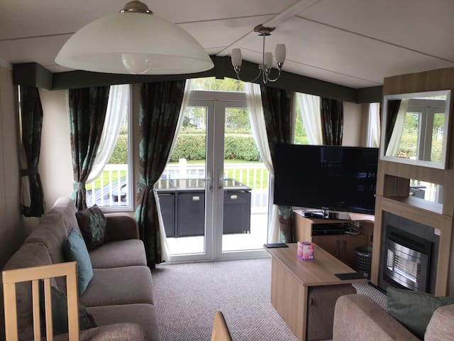3 bedroom swift Bordeaux with decking.