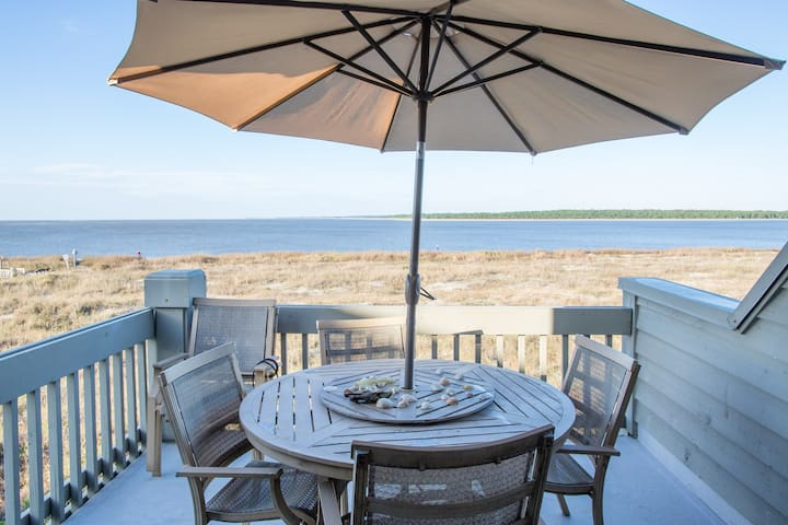 Beachfront, Top Floor Corner Villa! - Seabrook Island - Villa