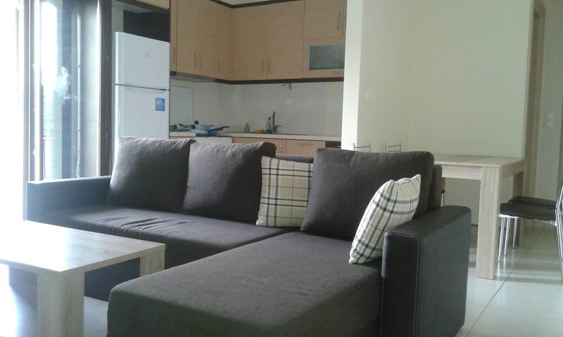 ΔΙΑΜΕΡΙΣΜΑ ΔΙΠΛΑ ΣΤΗΝ ΠΑΡΑΛΙΑ - Skaloma - Appartement