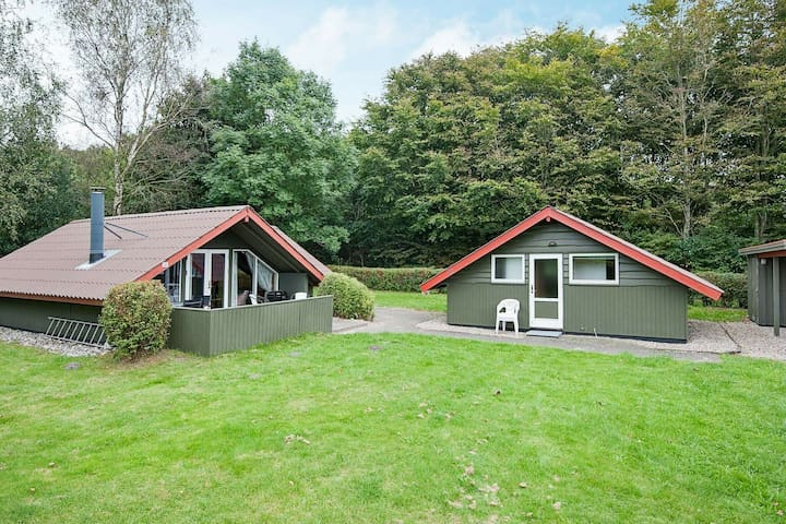 Exotic Holiday Home in Jutland with Garden