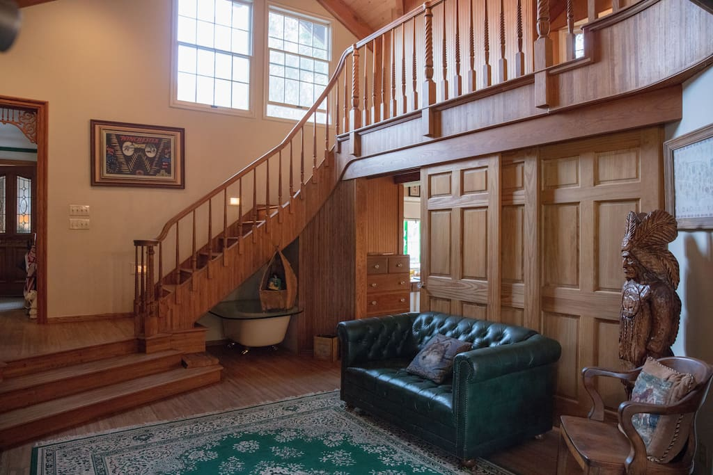 Custom crafted staircase