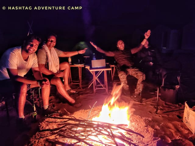Adventure Camping With Camel Safari In Pushkar