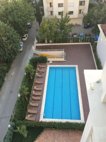 Residence w pool/gym in city center - Kadıköy - Apartament