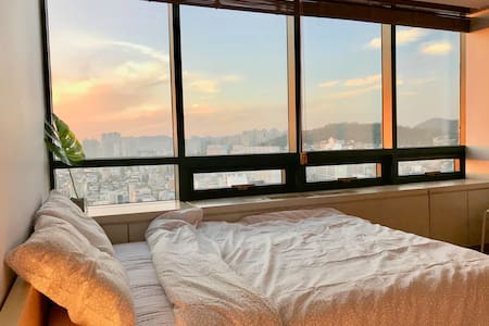 [City view3]Hongdae cozy room/Hongik univ stn.1min