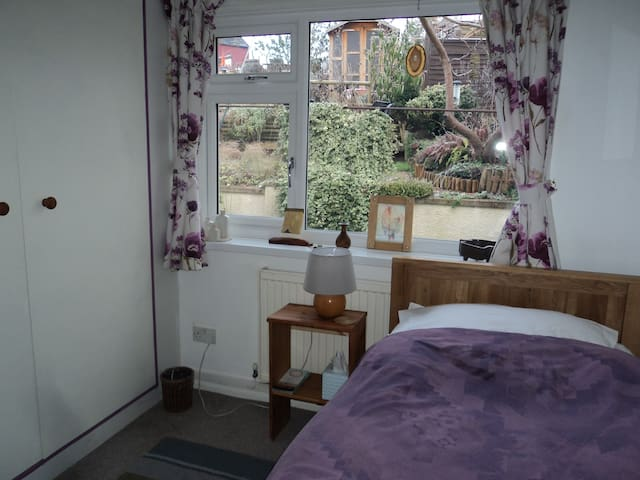 Quiet room overlooking the garden