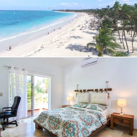 PERFECT BEDROOM for 2! Close to the Best Beach! - Punta Cana - Apartment