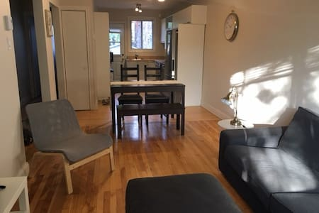 Two bedroom apartment near Monkland in NDG