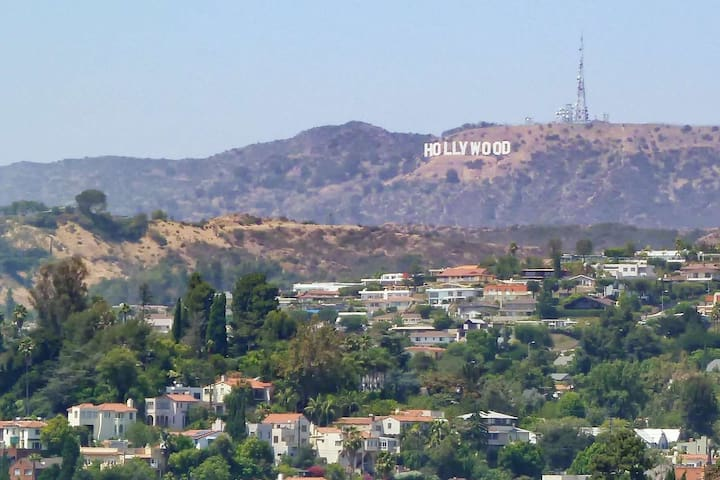 Hollywood Studio with view of Hollywood sign