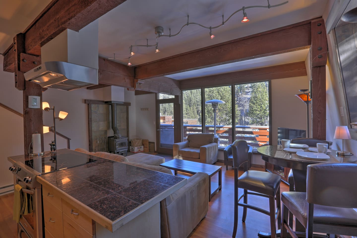 Escape to Alpine Meadows and stay at this vacation rental townhome.