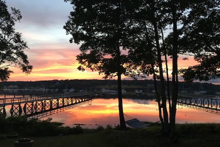 Lovely waterfront cottage!  views of Pemaquid H . - Bristol