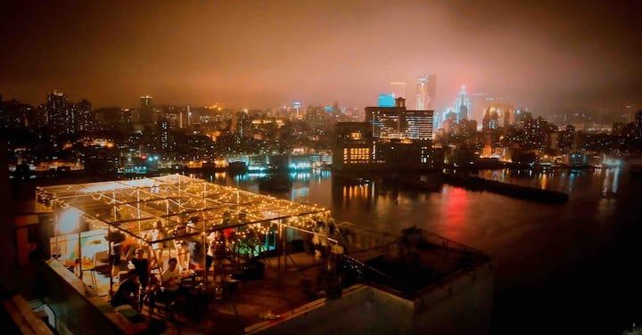 【天台故事】天台海景顶层复式  拱北口岸|长隆|湾仔国际会展|日月贝|渔女