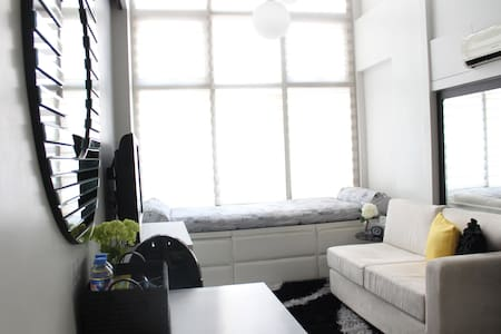 Cozy loft in Ortigas Center - Pasig - Kondominium