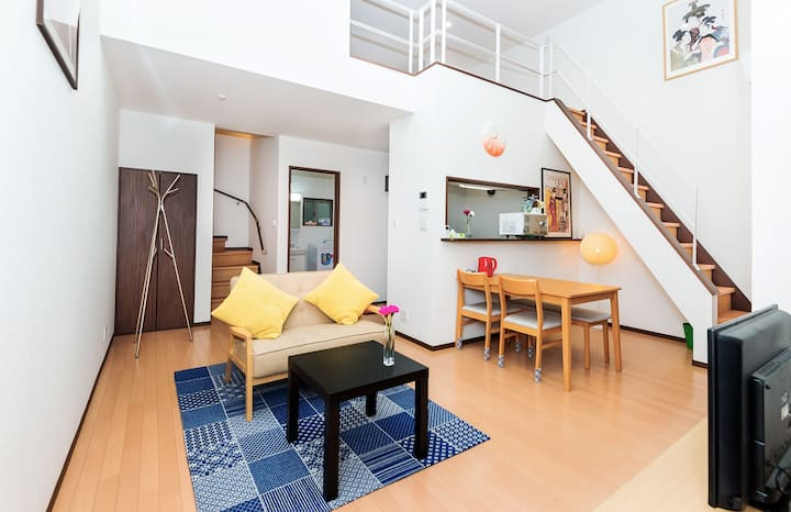 Entire house, 9min to Kyoto sta. / Up to 5 ppl
