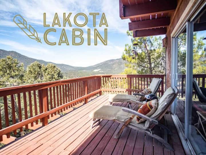 Lakota Cabin in Pine Mountain Club, CA (w/ views!)