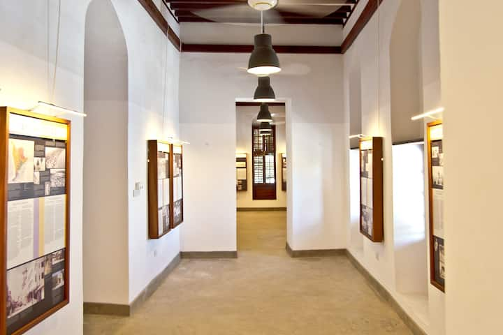 Permanent exhibition on city's history