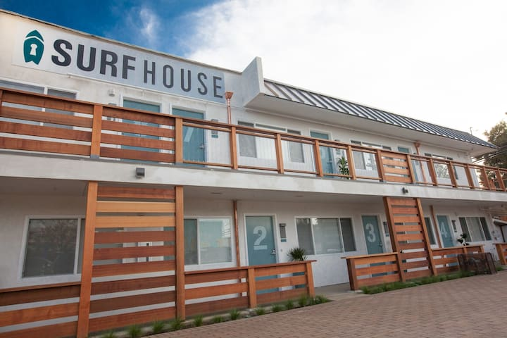 Surfhouse Boutique Motel - Grandview Room 8 - Encinitas - Boutique-Hotel
