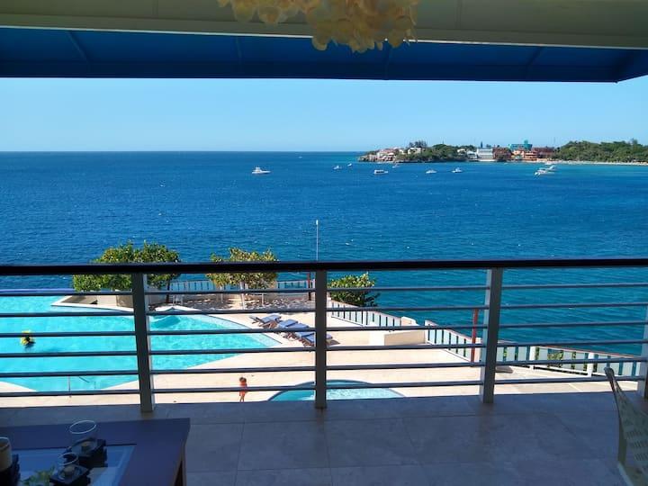 Luxury Beachfront Penthouse Condo. Best Ocean View