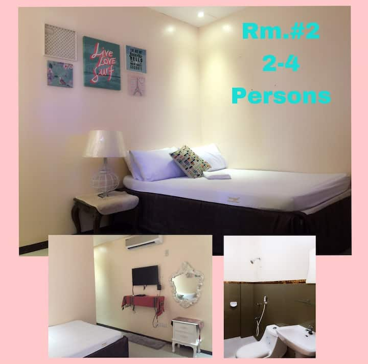 NNYL Baler Beach front Room#2 good for 2-4 pax