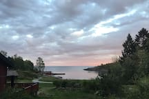 Nothamn, Åland sea. Beautiful scenery. 4 km away.