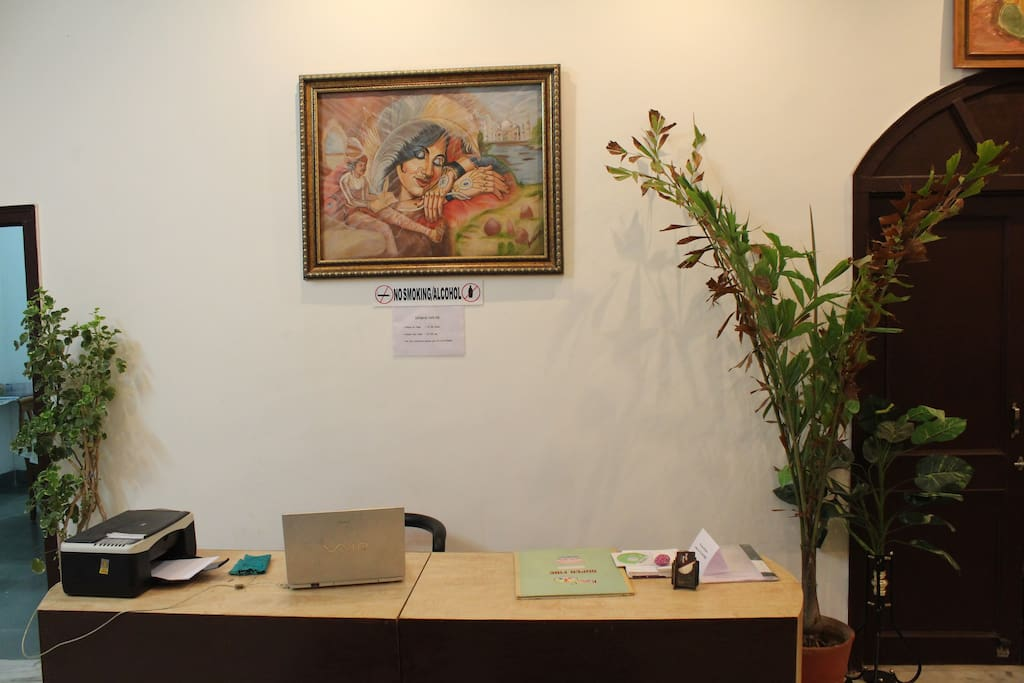 VIEW OF RECEPTION