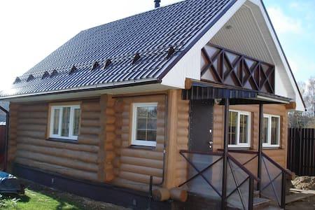Дом с сауной на выходные - Turovo