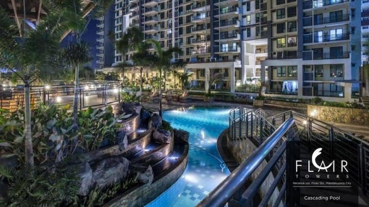 Condo Daily Rent in Mandaluyong, Flair Towers