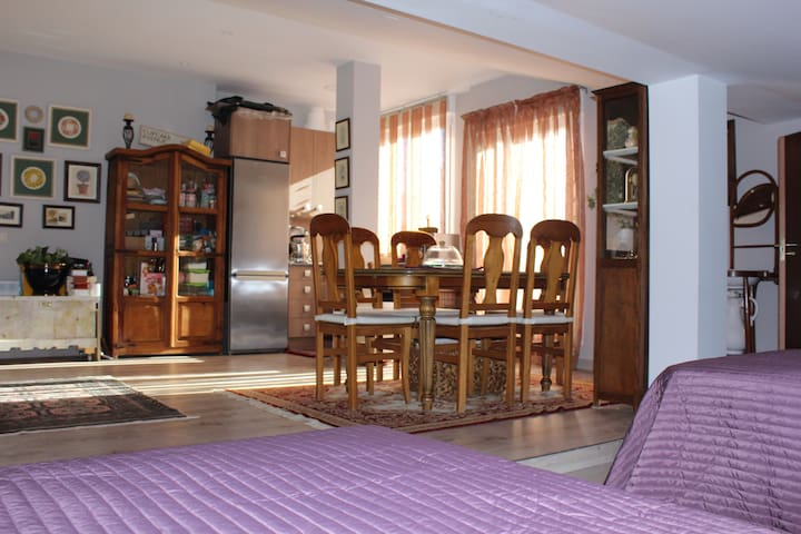 Apto/loft abuhardillado independiente en urb - Collado Villalba - Loft