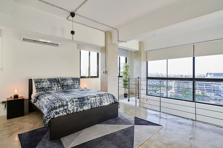 Best view city NEW LOFT in Center of Santo Domingo