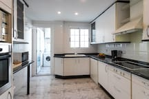 Huge kitchen, you can use it to make your breakfast, lunch or dinner. Just keep it clean!