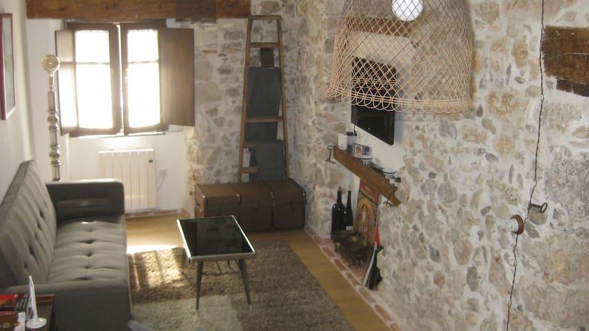 Alojamiento de Piedra en el Centro Historico/wifi