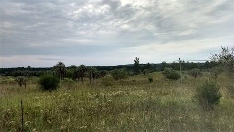 Cabaña Los Alamos con excelente vista panorámica