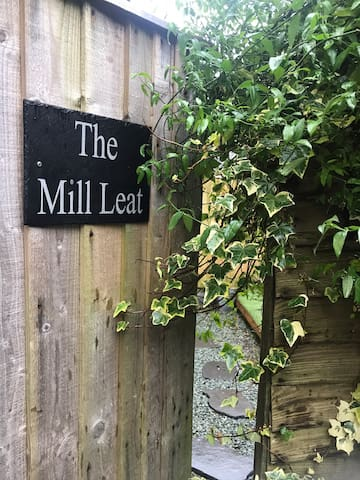The Mill Leat .Private garden. * new to Airbnb