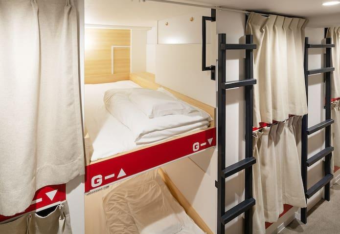 dormitory room by honjin hostel