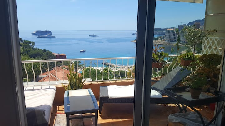 Studio vue Mer&Monaco