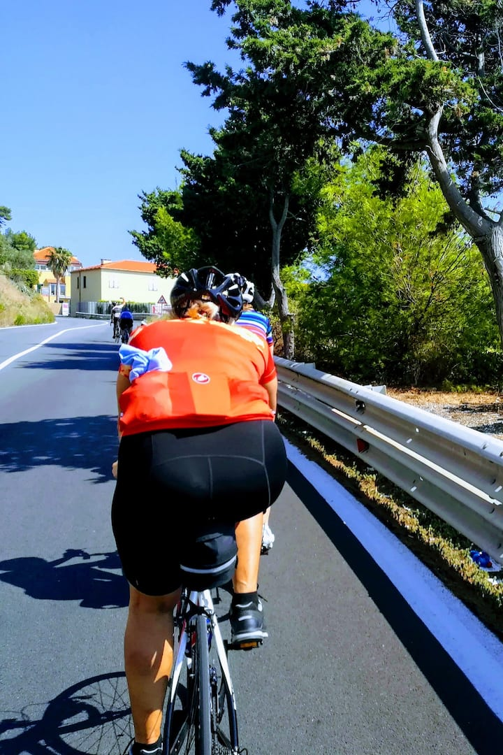 Coast road to Laigueglia bike tour