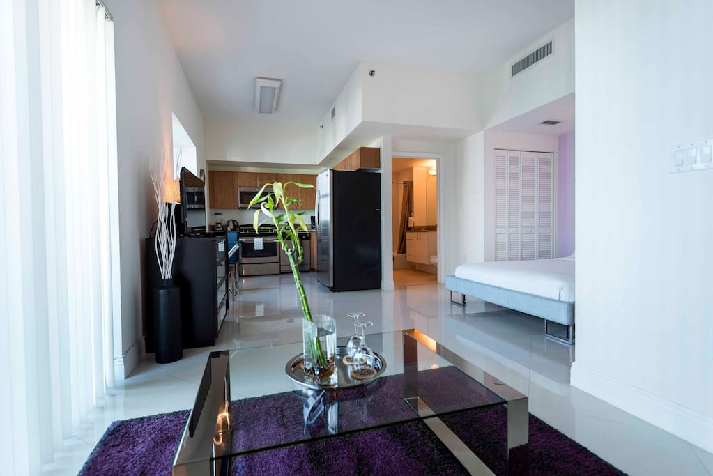 Dhs At Brickell Studio Serviced Apartments For Rent In Miami Florida United States