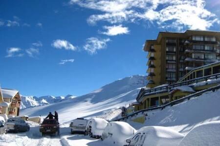 Departamento con vista a centro de ski El Colorado
