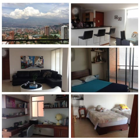 Apt. With amazing view - Medellín - Appartement