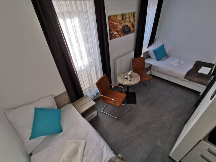 Studio Comfort Twin Bedded Room HP Apartments